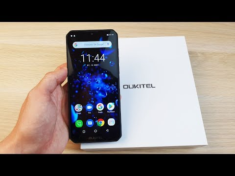 OUKITEL K12 - СМАРТФОН-POWERBANK С БАТАРЕЕЙ 10000MAH!