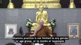 """Learn to Be Happy in Solitude"", Venerable Pramote, Dhamma Talk"