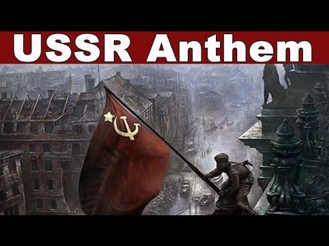 """USSR Anthem """"Государственный гимн СССР"""" ★"""