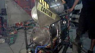 Jet Engine Auto Start Up Test 1
