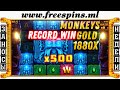 INCREDIBLE LUCK with the Bonus games !!! Casino ... - YouTube