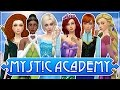 The Sims 4: Mystic Academy ✨ Ep. 1 ♛ Meet the Disney Princesses ♛