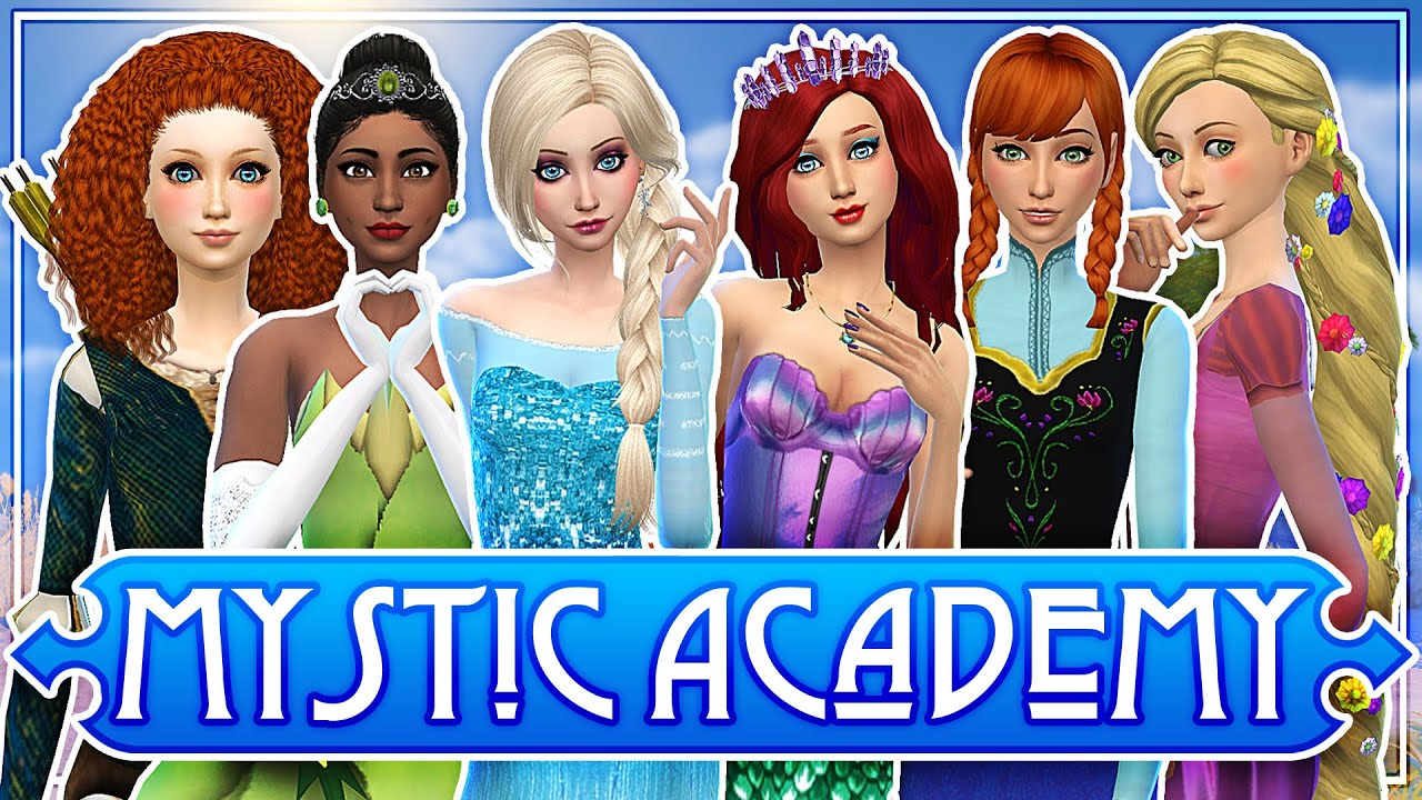 ELSA DATES JACK FROST ♛ The Sims 4: Mystic Academy ✨ Ep. 14 - YouTube