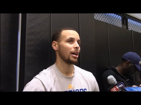 Steph Curry On Who He'd Rather Guard Russell Westbrook or James Harden. HoopJab NBA