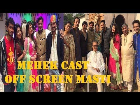 Zindagi Ki Mehek ! Off Screen Masti Of Zindagi Ki Mehek Cast !