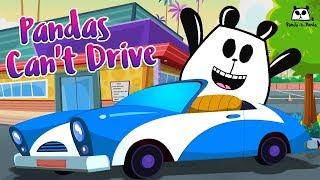 Pandas Can'T Drive | Panda A Panda | Cartoons For Children | Kids Channel
