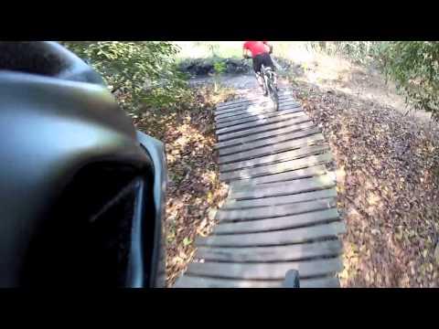 Mountain Biking Markham Park in Florida