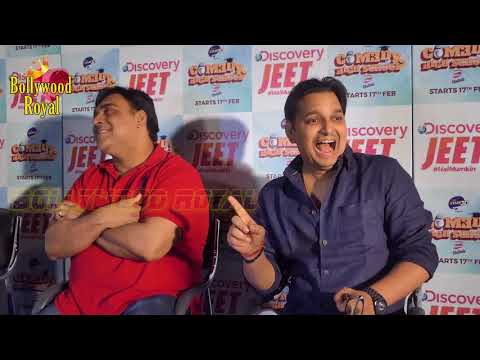 Discovery Jeet PC Of 'Comedy High School' With Ram Kapoor, Paritosh Tripathi, Gopal Dutt Part-2