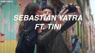 Sebastián Yatra - Cristina ft. Tini (Letra)