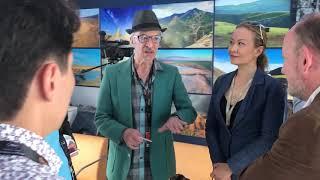 Kazakhstan pavilion. Marché du film 2019.