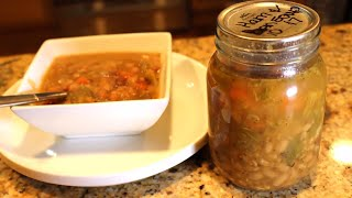 Home Canned Ham & Bean Soup Review With Linda's Pantry