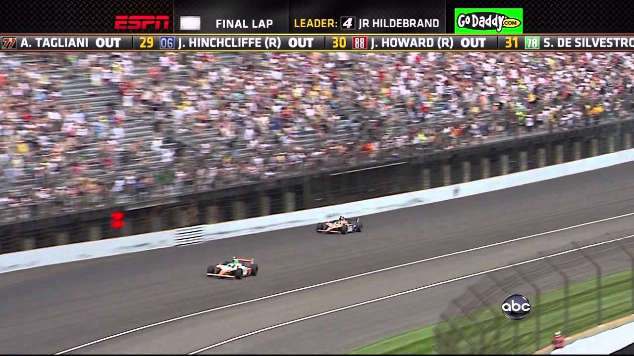 How Many Laps In Indy 500 >> Indy 500 Race 2011 Winner Exciting Final 4 Laps Down To Last