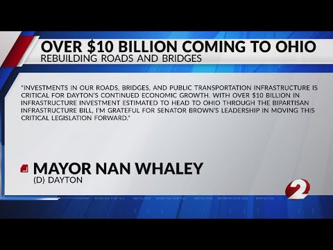 Over $10 billion coming to Ohio to rebuild infrastructure disasters