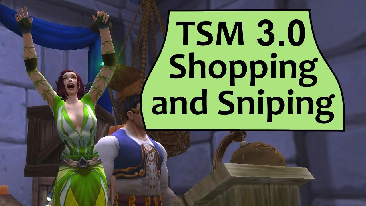 TSM4 Sniping Guide Part 1 of 3 | Warcraft Gold Guides
