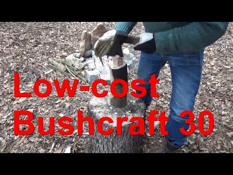 Low-cost Bushcraft Serie Teil 30