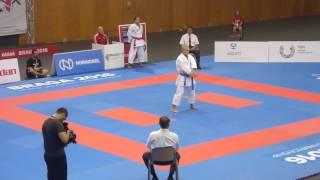 WCU 2016, kata male bronze medal match, FAbian SVK vs Deryugin RUS