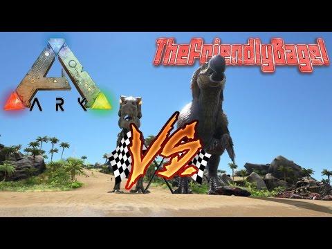 Ark Max Speed! | Dodorex Vs Alpha T-Rex