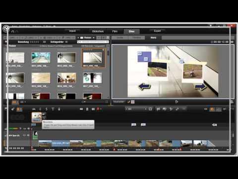 Disk Miniaturschaltflächen in Pinnacle Studio 16 und 17 Video 106 von 114