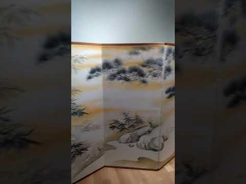 Japanese Pavilion Folding Screen by Alejandro Bertolo