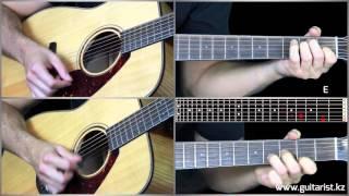 Michel Teló - Ai Se Eu Te Pego guitar lesson  (Уроки игры на гитаре Guitarist.kz)