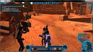 SWTOR Sith Warrior  Slaying the Beast Take a Taxi to the Lower Wilds