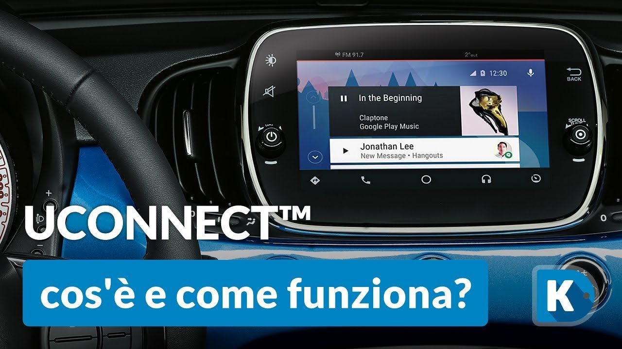 rubrica uconnect