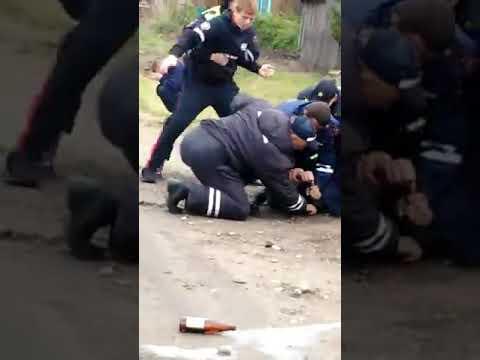 Разборки с полицией в Канске