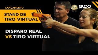 Tiro Virtual X Tiro físico - Stand de tiro virtual LaserAmmo - Eloo Tático®.