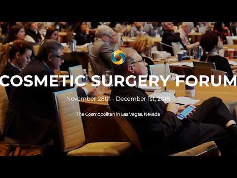 Cosmetic Surgery Forum November 2018