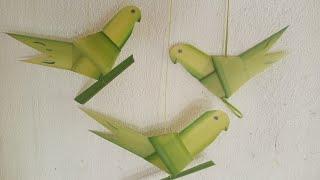 Cách làm con chim bằng lá dừa đơn giản nhất.