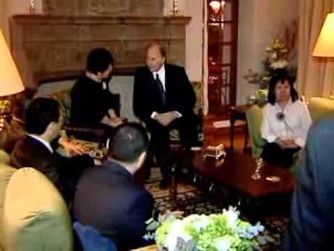 HH The Aga Khan meets the newly elected president of Kyrgyzstan- 2011  France