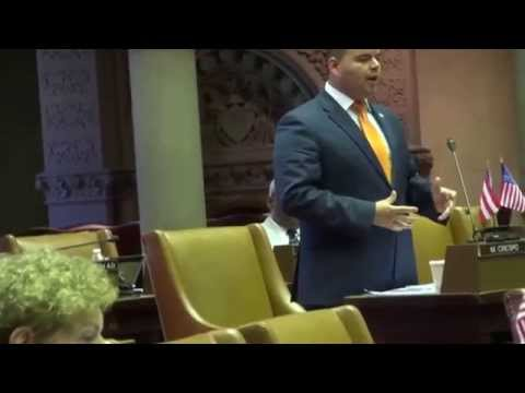 Assemblyman Marco Crespo Urging Congress to Help PuertoRico's debt video by Jose Rivera 6:24:15