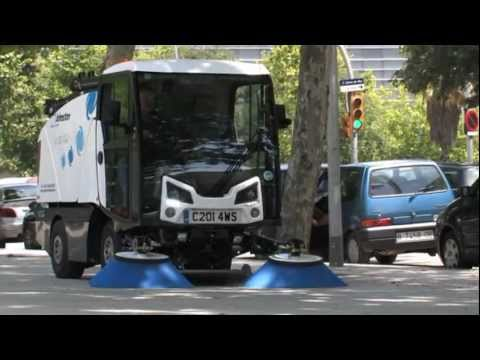 Johnston Sweepers C201 4WS Four wheel Steering Road Sweeper