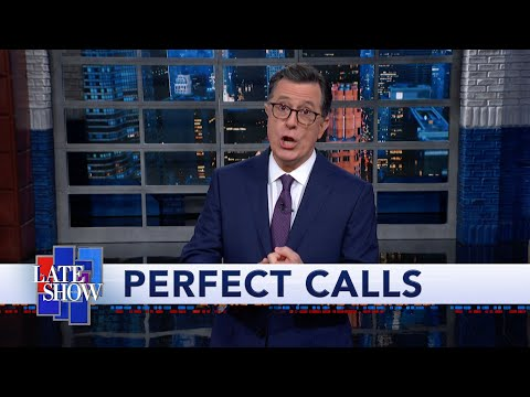 As Televised Trump Impeachment Inquiry Begins, Colbert Breaks Out the Impeachment Tree