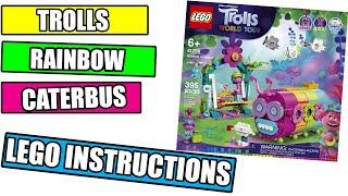 LEGO Rainbow Caterbus INSTRUCTIONS - LEGO TROLLS 2020 - 41256