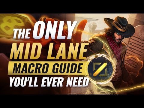 The ONLY Mid Lane Macro Guide You'll EVER NEED - League of Legends Season 9