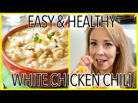 COOK WITH ME // SUPER EASY SLOW COOKER WHITE CHICKEN CHILE