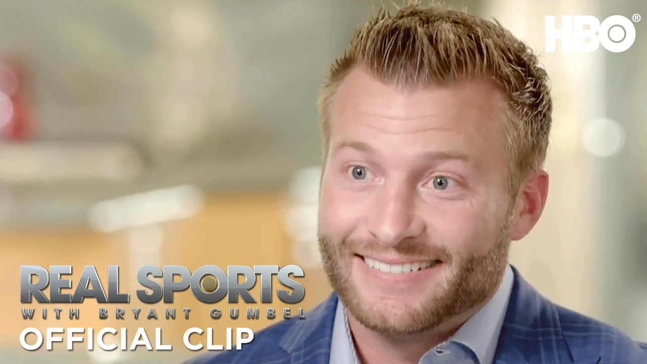La Rams Head Coach Sean Mcvay S Photographic Football Memory Real Sports W Bryant Gumbel Hbo Youtube