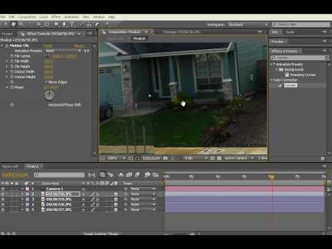 After Effects: Lam phim tu hinh anh (phan 5)