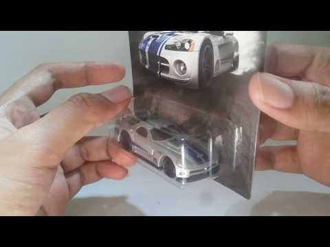 UNBOXING / NGELOOSE  AND REVIEW HOTWHEELS DODGE VIPER GTS - R ( MOPAR SERIES )