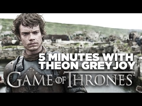 5 Minutes With Game of Thrones' Theon Greyjoy:  Alfie Allen