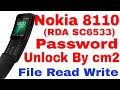 Nokia 8110 (RDA SC 6533) Passcode Remove, File Read Write By cm2 II Noki...