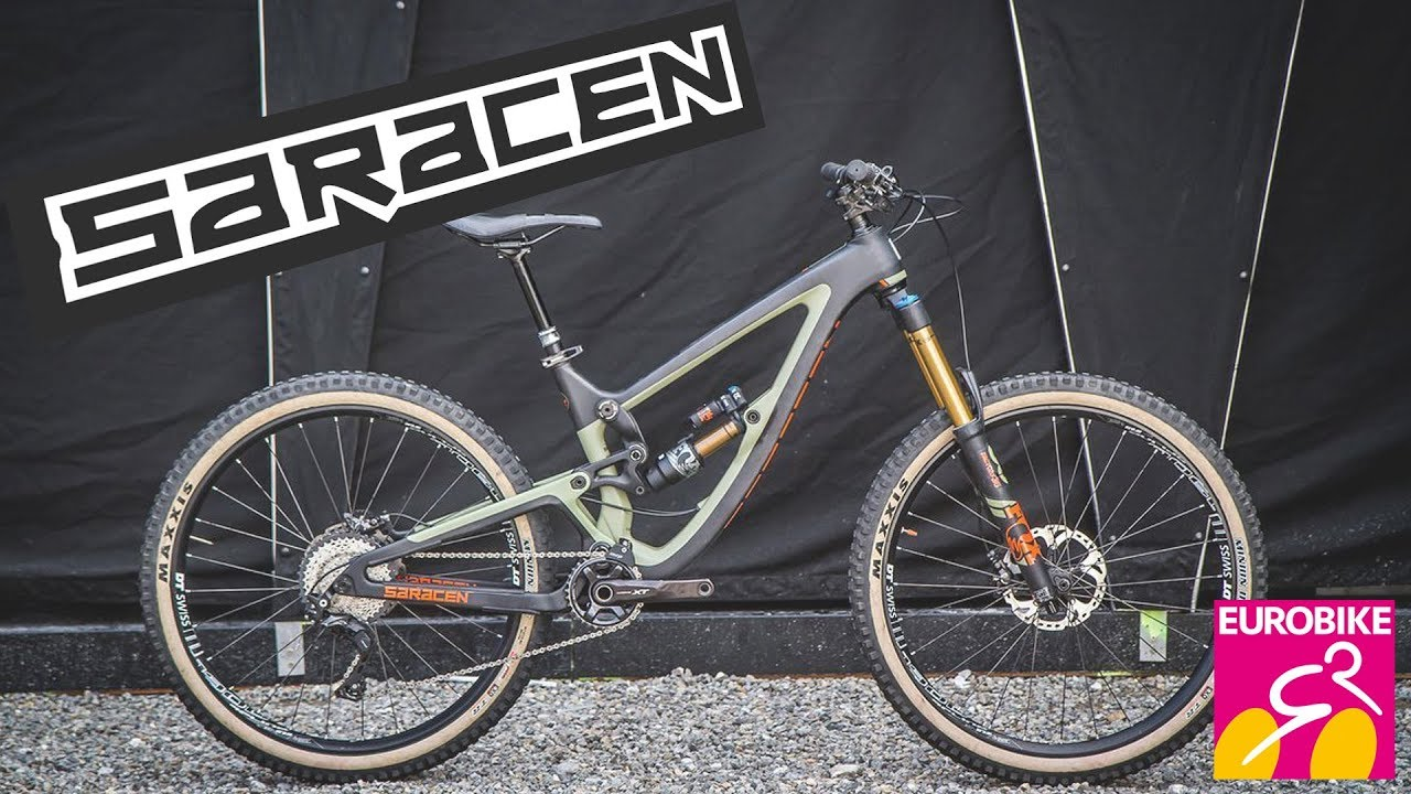 d960659d2a6 New SARACEN Bikes 2018 - Eurobike 2017 [4K] - YouTube
