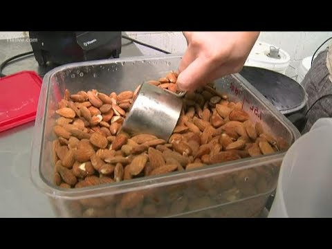 How is Almond Milk made?