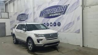 2019 Ford Explorer Platinum 600A W/ 3.5L EcoBoost, Leather Overview | Boundary Ford