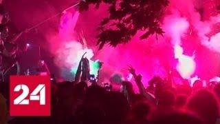 Футбольные беспорядки: на улицы Парижа вывели 2,5 тысячи полицейских - Россия 24