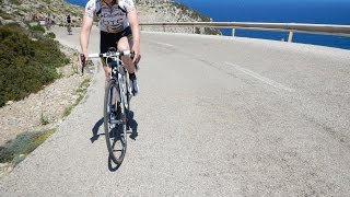 Mallorca Cycling Camp Video #13 Indoor turbo Trainer Workout 60 Minute Full HD Drift Camera