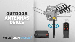 Walmart Top Cyber Monday Outdoor Antennas Deals: Ematic HD TV Motorized Outdoor Antenna with