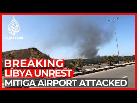 Tripoli: Reports of civilian plane hit at Mitiga airport