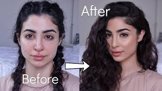 Makeup Transformation | Soft Glam | Elwa Saleh